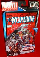 Marvel Universe Comic Packs: Wolverine & Silver Samurai - Action Figure 2-Pack Sealed on Card